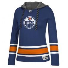 Edmonton Oilers Dámska - Jersey Pullover NHL Mikina s kapucňou