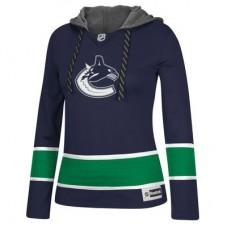 Vancouver Canucks Dámska - Jersey Pullover NHL Mikina s kapucňou