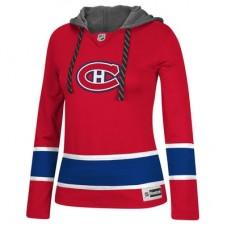 Montreal Canadiens Dámska - Jersey Pullover NHL Mikina s kapucňou