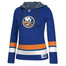 New York Islanders Dámska - Jersey Pullover NHL Mikina s kapucňou