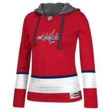 Washington Capitals Dámska - Jersey Pullover NHL Mikina s kapucňou