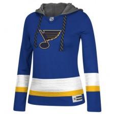 St. Louis Blues Dámska - Jersey Pullover NHL Mikina s kapucňou