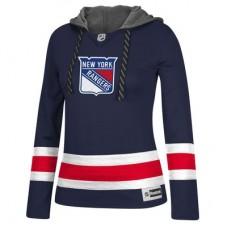 New York Rangers Dámska - Jersey Pullover NHL Mikina s kapucňou