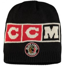 Chicago Blackhawks - CCM Solid Beanie NHL Knit Zimná čiapka