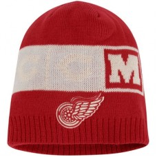 Detroit Red Wings - CCM Solid Beanie NHL Knit Zimná čiapka