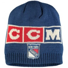 New York Rangers - CCM Solid Beanie NHL Knit Zimná čiapka