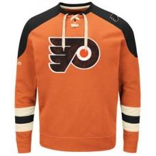 Philadelphia Flyers - Vintage Centre Lace-Up NHL Tričko s dlhým rukávom