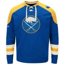 Buffalo Sabres - Vintage Centre Lace-Up NHL Tričko s dlhým rukávom
