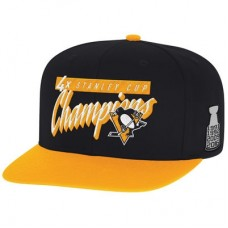 Pittsburgh Penguins - 4-Time Stanley Cup Champions Snapback NHL Čiapka