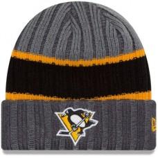 Pittsburgh Penguins - Stripe Chiller NHL Knit Zimná čiapka
