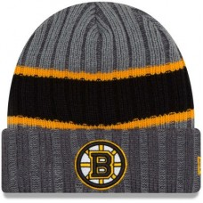 Boston Bruins - Stripe Chiller NHL Knit Zimná čiapka