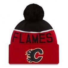 Calgary Flames - Sport Cuffed NHL Knit Zimná čiapka
