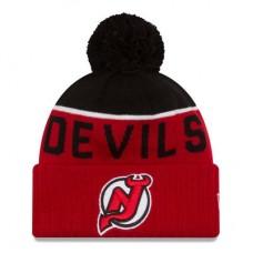New Jersey Devils - Sport Cuffed NHL Knit Zimná čiapka
