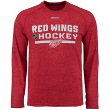 Detroit Red Wings - Center Ice Locker Room Supremium Performance NHL Tričko s dlhým rukávom