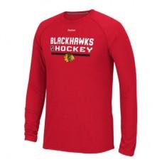 Chicago Blackhawks - Center Ice Locker Room Supremium Performance NHL Tričko s dlhým rukávom