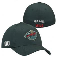Minnesota Wild - Stretch Fit NHL Čiapka s vlastným menom a číslom