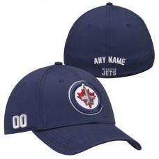 Winnipeg Jets - Stretch Fit NHL Čiapka s vlastným menom a číslom