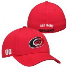 Carolina Hurricanes - Stretch Fit NHL Čiapka s vlastným menom a číslom