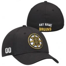 Boston Bruins - Stretch Fit NHL Čiapka s vlastným menom a číslom