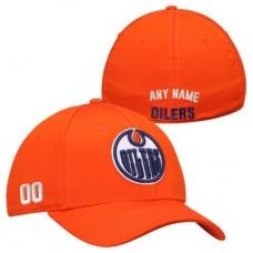 Edmonton Oilers - Stretch Fit NHL Čiapka s vlastným menom a číslom