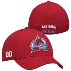 Colorado Avalanche - Stretch Fit NHL Čiapka s vlastným menom a číslom