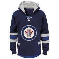 Winnipeg Jets detská - Retro Skate NHL Mikina s kapucňou