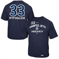 Winnipeg Jets - Dustin Byfuglien No. 33 Locker Status Name & Number Speed Wick NHL Tričko