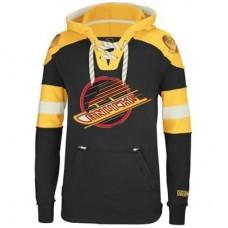 Vancouver Canucks - CCM Pullover V NHL Mikina s kapucňou