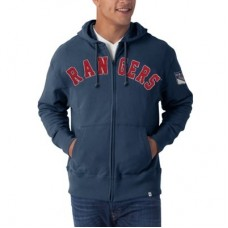New York Rangers - Striker Full Zip V NHL Mikina