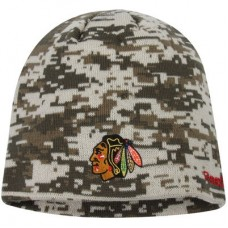 Chicago Blackhawks - Digi Camo NHL Knit Zimná čiapka