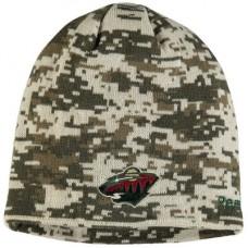 Minnesota Wild - Digi Camo NHL Knit Zimná čiapka