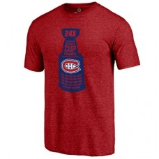 Montreal Canadiens - The Cup Tri-Blend NHL Tričko