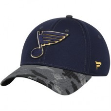 St. Louis Blues - Camo NHL Čiapka
