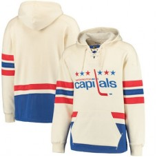 Washington Capitals - CCM Throwback Logo NHL Mikina s kapucňou
