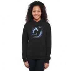 New Jersey Devils Dámska - Pond Hockey NHL Mikina s kapucňou