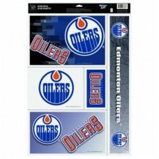 Edmonton Oilers - NHL Nálepky Set