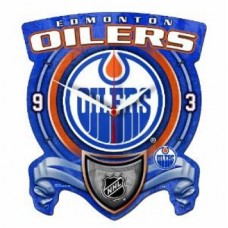 Edmonton Oilers - High Definition Z NHL Hodiny
