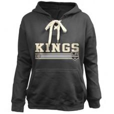 Los Angeles Kings Detska - Skate Lace Up NHL Mikina s kapucňou