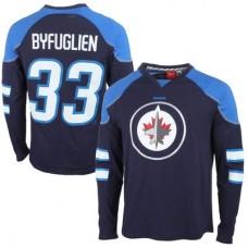 Winnipeg Jets - Dustin Byfuglien Edge NHL Tričko s dlhým rukávom
