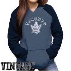 Toronto Maple Leafs Dámska - Original Retro NHL Mikina s kapucňou