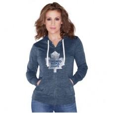 Toronto Maple Leafs Dámska - Tri-Blend NHL Mikina s kapucňou