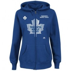 Toronto Maple Leafs Dámska - Goal Line Full Zip NHL Mikina s kapucňou