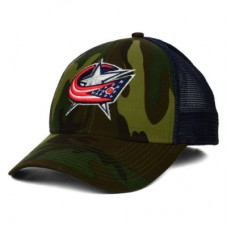 Columbus Blue Jackets - Camo Trucker LD NHL Čiapka