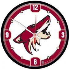 Arizona Coyotes - Round Clock NHL Hodiny