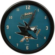 San Jose Sharks - Basic Clock NHL Hodiny