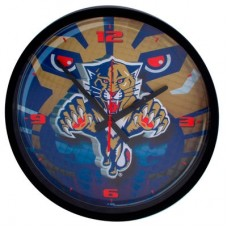 Florida Panthers - Round Clock NHL Hodiny
