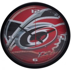 Carolina Hurricanes - Round Clock NHL Hodiny