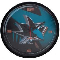 San Jose Sharks - Round Clock NHL Hodiny