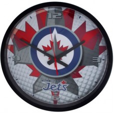 Winnipeg Jets - Round Clock NHL Hodiny