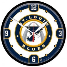 St. Louis Blues - Round Wall FF NHL Hodiny